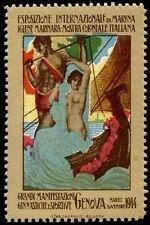 Regno Vignetta 1914 Esposizione Int. di Marina (854)