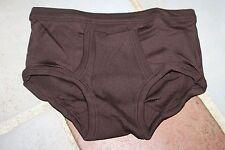Slip Kangourou / ouvert Homme Dropnyl - marron - Taille 1 - Vintage - neuf