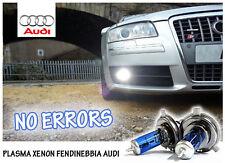 LAMPADINE H8 PLASMA XENON BIANCO FENDINEBBIA AUDI A4 (B8) DAL 2013 - NO ERROR!