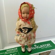 Vintage clockwork dancing doll
