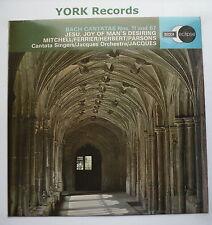 ECS 562 - BACH - Cantatas No 11 & 67 JACQUES Cantata Singers - Ex Con LP Record