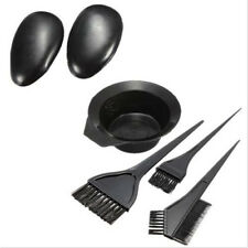 5PCS 1Set Hairdressing Brushes Bowl Salon Comb Hair Color Dye Tint DIY Tools Kit