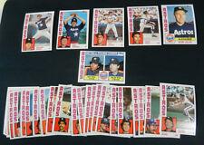 1984 Topps HOUSTON ASTROS TEAM SET//  Nolan Ryan  //29 Cards///MINT