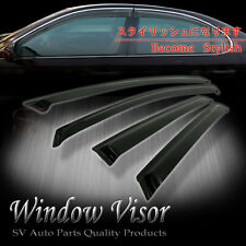 SMOKE WINDOW VENT VISORS DEFLECTOR SHADE HONDA ACCORD 90 91 92 93 SEDAN/4DOOR