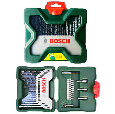 Bosch Multi-Purpose 33pc X line Bit Set - Driver Drill Bits Wood concrete metals