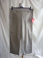 Ladies Trousers Ski Pants - Fashion Extra, size 16, BNWT, light brown - 7535
