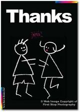 Thank You Card - Chalks Range - Thanks! - CK011