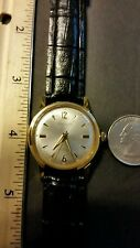 Vintage Men's VANTAGE Watch By Hamilton 17J Gold Tone serviced