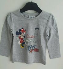 Girls Disney Minnie Mouse Long sleeve T Shirt New Age 3