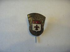 INSIGNE BADGE F.G.S.P.F ARMENTIERES JUILLET 1939