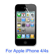 HD PET Soft Clear  Screen Protector Film for Apple iphone 4 4s High Quality D1