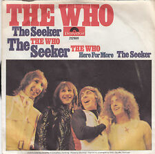 "Single 7"" The Who ""The Seeker/Here for more"""