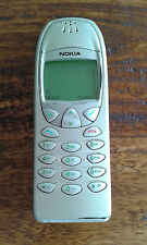 CLASSIC RETRO NOKIA 6210 - Silver / Grey Mobile Phone - Tested and Working