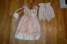 Pottery Barn Kids Peach Flapper Halloween Costume Size 4 - 6 Years