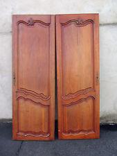 2 anciennes portes d'armoire, à patiner et à détourner en déco tendance