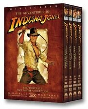 Brand New DVD The Adventures of Indiana Jones (1984) Harrison Ford 4 Disc Collec