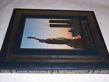 easton press ONE NATION American Remembers September 11, 2001