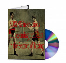 BOXING instructions for becoming proficient in the Science of Boxing on CD PDF