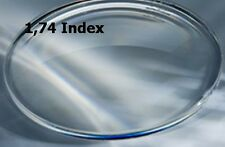 2 Brillengläser 1.74 /Kunststoff mit Super-Hart-ET