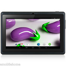 "7"" Q88H A33 Android 4.4 PC Tablette Quad Core 1.2GHz 512MB+8Go Dual Camera Noir"
