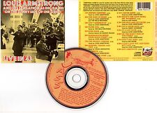 "LOUIS ARMSTRONG ""Live in '43"" (CD) 1989"