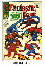 FANTASTIC FOUR #73 © 1968 Marvel Comics f