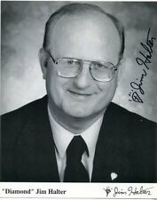 "Autographed 8 X 10 - ""Diamond"" Jim Halter - Actor, Businessman, Who's Who World"