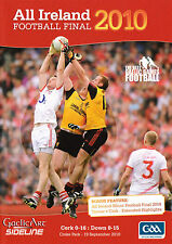 2010 All-Ireland Football Final GAA DVD + Match Programme