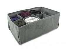 Storage box wardrobe organiser drawer organiser socks 8 compartments organizer