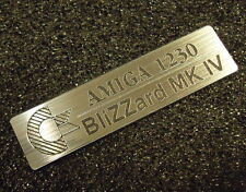 CoAmiga1230 Blizzard MK IV Label / Logo / Sticker / Badge 49 x 13 mm [412]