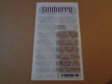 Jamberry Full Sheet Nail Wrap Ka Boom Kaboom NEW