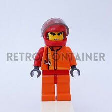 LEGO Minifigures - 1x rac013 - Scorcher - Racers Omino Minifig Set 4584