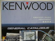 KENWOOD (BROCHURE ORIGINALE solo)............ radio_trader_ireland.