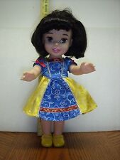 "Disney My First Princess Snow White Beauty Toddler 15"" doll with Yellow Shoes"