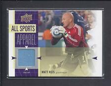2011 Upper Deck MLS World of Sports Game Used Jersey MATT REIS  no.AS-MR