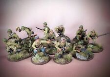 Painted Bolt Action SOVIET VETERAN SIBERIAN SQUAD #3 Russian Infantry 28mm WWII