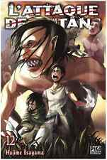 manga L'Attaque des Titans Tome 12 Seinen Hajime Isayama Pika Shingeki no Kyojin