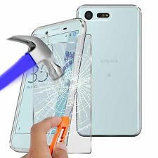 For Sony Xperia X Compact - Ultra Thin Clear TPU Gel Skin Case Cover & Glass