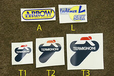 Termignoni LeoVince leo vince Arrow escape calor fijo pegatinas stickers Decals