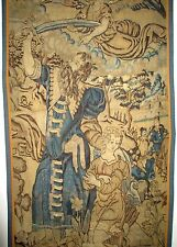 An Early Antique Tapestry Depicting Abraham and The Binding of Isaac