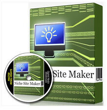 NICHE SITE MAKER - Creates Internet Marketing Affiliate Websites Fast & Easy MRR