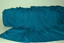"""Cobalt Blue Rayon Poly Spandex Stretch Silky Knit Jersey 60"""" Wide Fabric BTY"""