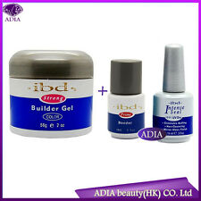 (3 pcs / Set) IBD UV GEL BUILDER CLEAR BONDER PRIMER BASE TOP COAT Intense MARE