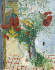 Bonnard Pierre Flowers In A Vase Print 11 x 14   #3539
