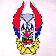 JUMBO EMBROIDERED CRAZY CLOWN BACK PATCH JBP004 psycho CIRCUS CLOWNS patches NEW