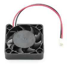 BRUSHLESS 2-Pin CPU Cooling Cooler Fan 1000-2000RPM 4 X 4 X 1cm DC 12V CHIP 117