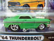 MUSCLE MACHINES (1964) '64 FORD FAIRLANE THUNDERBOLT - SUPERCHARGED 1/64 DIECAST