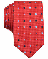 $115 NAUTICA Men`s RED BLUE WHITE FLORAL NECK TIE CASUAL SILK NECKTIE 60X3.25