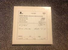 "Iron Maiden 1/4"" tape reel radio station ID recording"