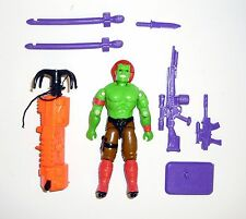GI JOE BLANKA Vintage Action Figure Street Fighter 2 COMPLETE 3 3/4 C9+ v1 1993